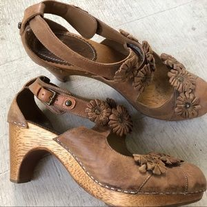 Anthropologie clogs, size 8.
